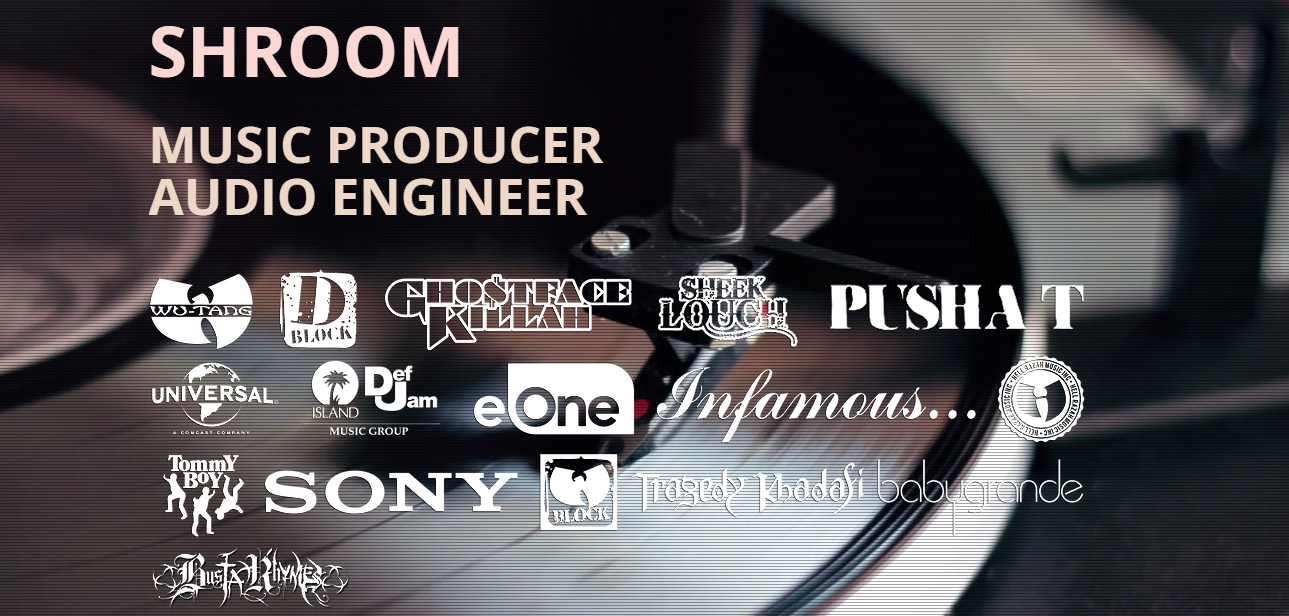 SAMPLE PACKS | Produced by Shroom - Music Producer & Audio Engineer