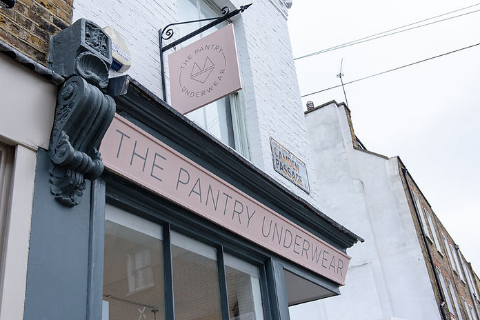 The Pantry Underwear shop Islington