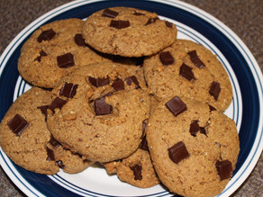 Chocolate Chunk Almond Butter Paleo Cookies