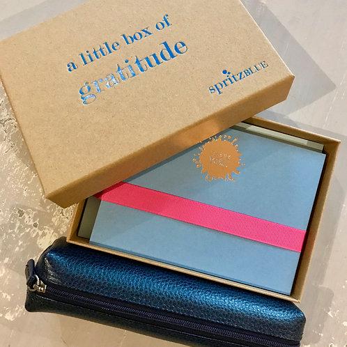 Little Box of Gratitude stationery set