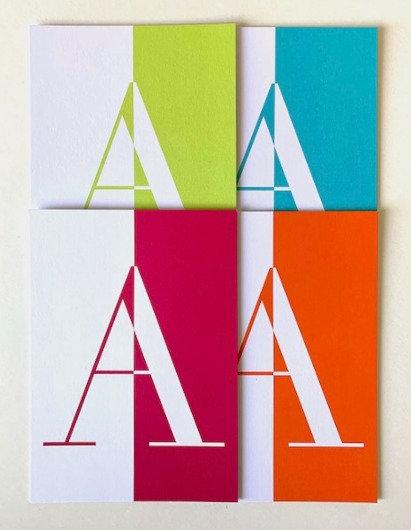 Alphabet cards (pack of 10 cards in upper case)