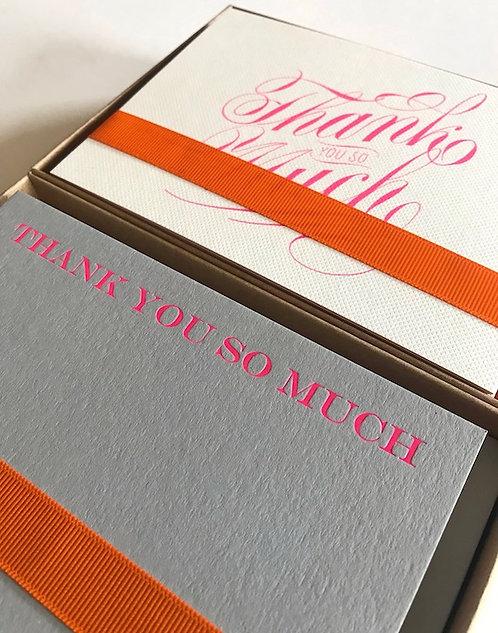 Bespoke Little Box of Gratitude (20 luxury cards & envelopes)