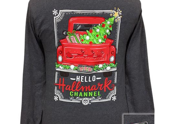 Hello Hallmark Channel Long Sleeved Tee