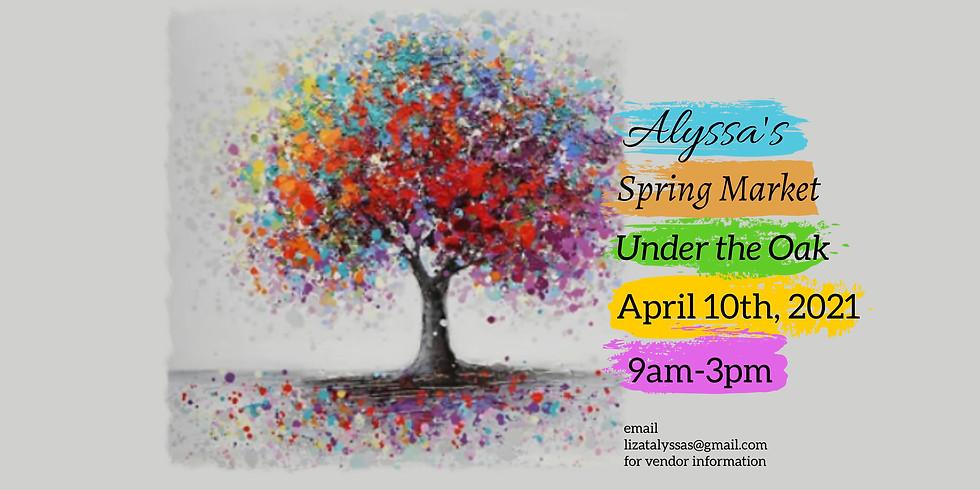 """Spring Market """"Under the Oak"""""""