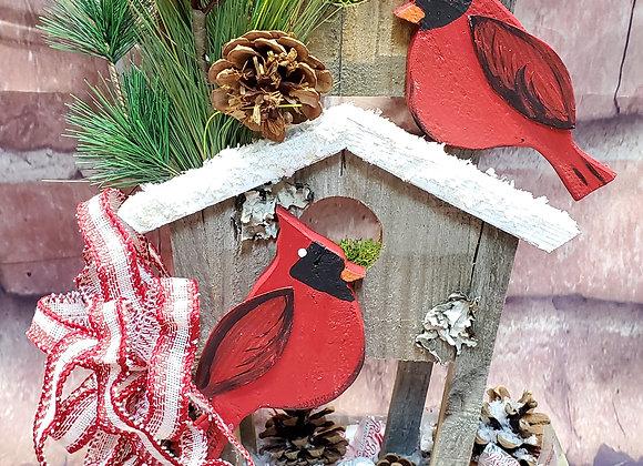 Christmas Cardinal Centerpiece Class -Dec. 5th