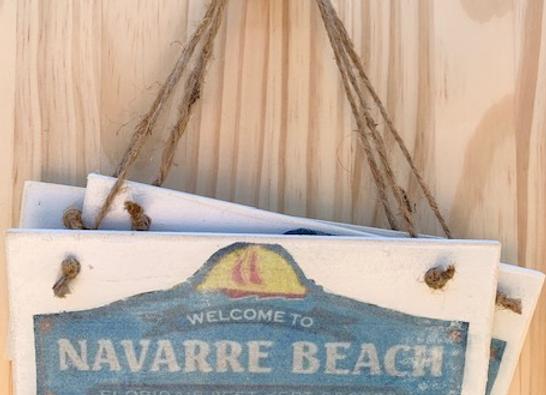 Navarre Beach Ornament by Vendor 112