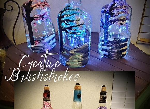Lighted Bottle Class March 27 9:30am
