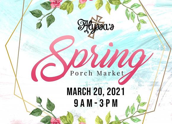 Spring Market Vendor Fee