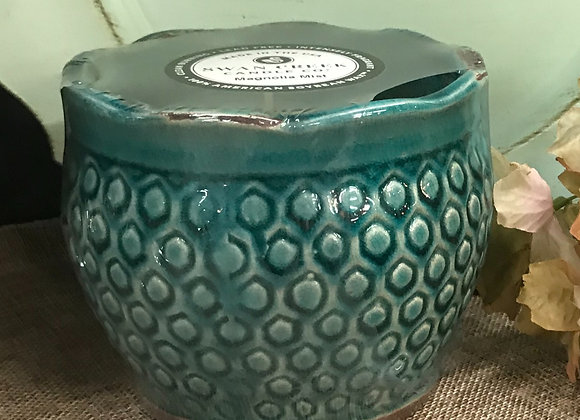 Swan Creek Lg Round Pottery Candle
