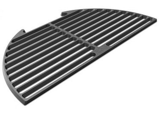 BGE Half Moon Cast Iron Cooking Grid for XL Egg