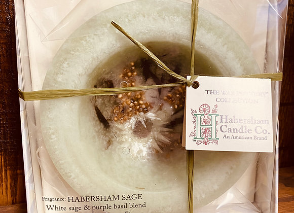 Habersham Wax Pottery Vessel - Habersham Sage