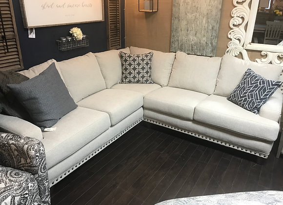 Anna 3pc Sectional by Franklin