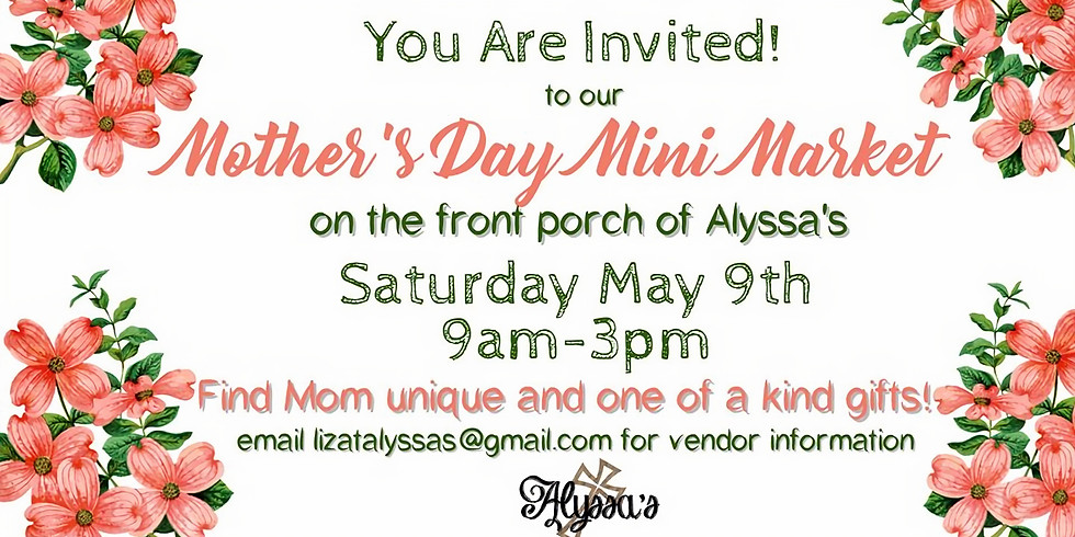 Mother's Day Mini Market