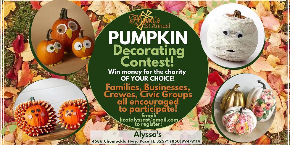 Pumpkin Decorating Contest!