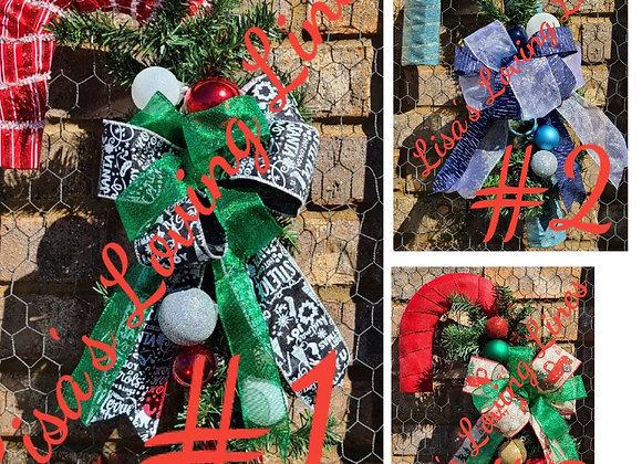 Candy Cane Wreath Class - Saturday Dec. 5th