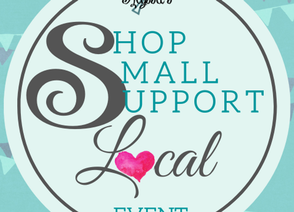 Shop Small, Support Local Registration (Click Pic)