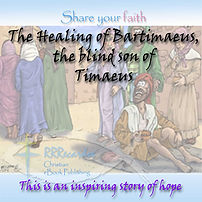 eBook 5X5  Cover The Healing of Bartimae