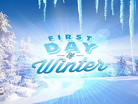 Winter Arrives!