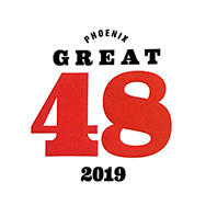 In 2019, Susan Ginsberg of Stop and Breathe was awarded the prestigous honor of being one of PHOENIX magazine's Great 48 Professionals Across the Valley.