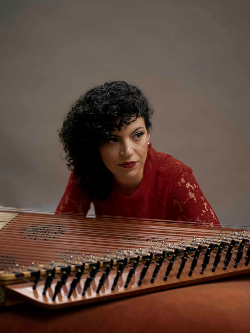 Born in Damascus, virtuoso qanun player Maya Youssef uses her music to express memories of home and the loss wrought by war in her native Syria. She believes music is an antidote to the pain and suffering of people in Syria and across the world.