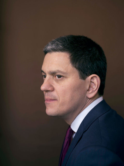 David Miliband's parents fled to Britain from continental Europe as a result of WWII. This experience continues to influence his work as head of the International Rescue Committee, which helps people affected by conflict and disaster.