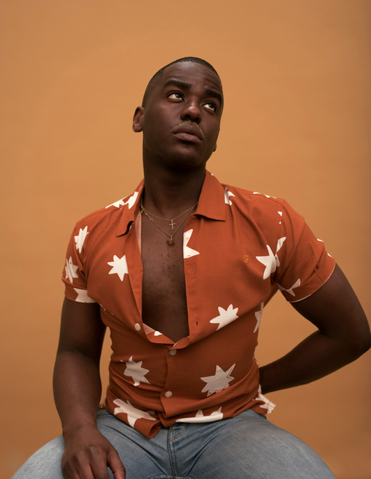 Rising star Ncuti Gatwa was born in Kigali to Rwandan parents. After moving to the UK with his family in 1994, Ncuti grew up in Edinburgh and Dunfermline before studying drama at the Royal Conservatoire of Scotland in Glasgow. He is best known for his scene-stealing role as Eric in the Netflix series Sex Education.