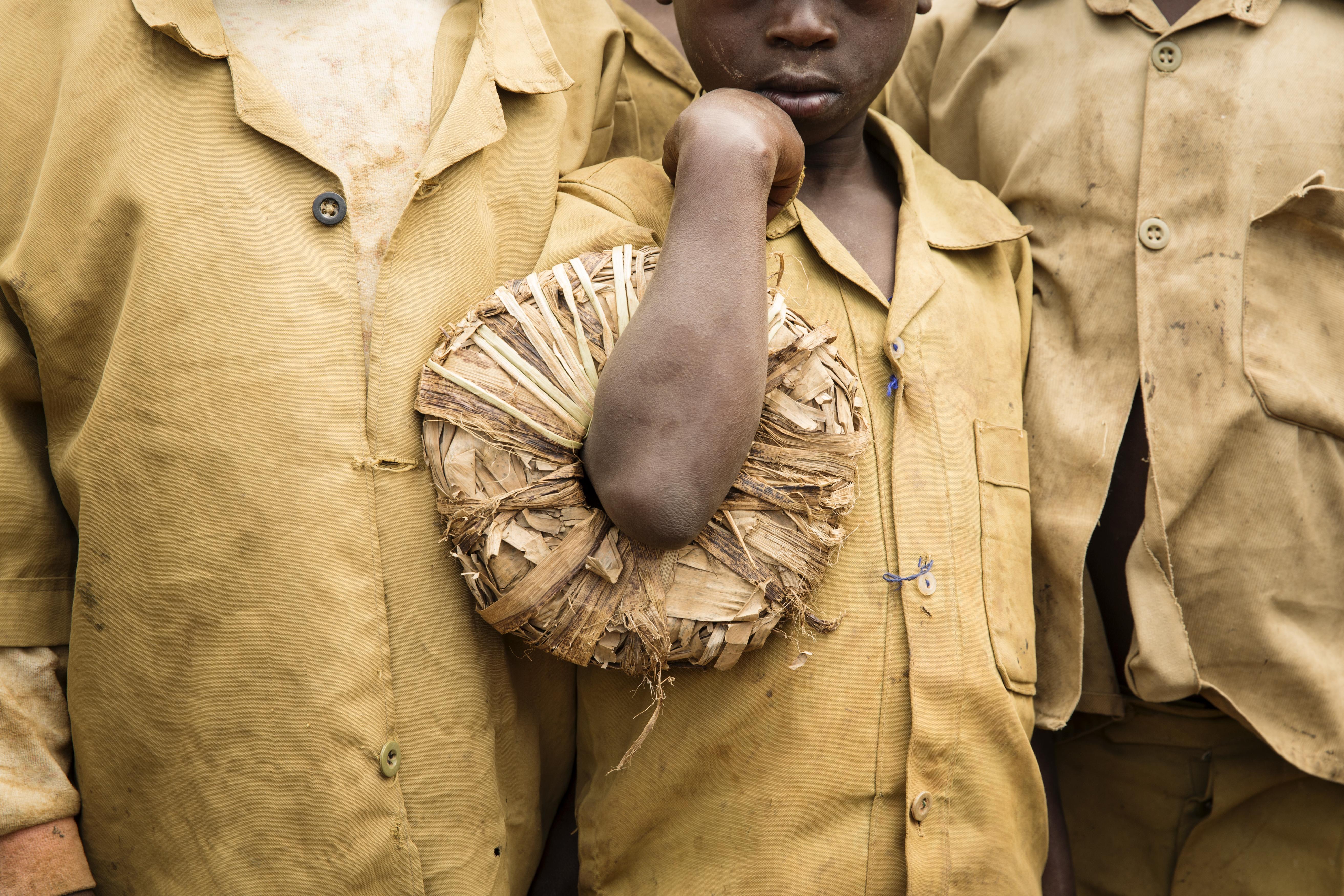 School child, Musanze, Rwanda.