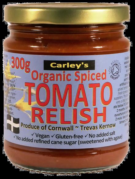 Carley's Organic Tomato Relish 300g