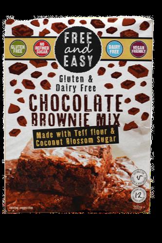 Free & Easy Gluten Free Vegan Chocolate Brownie Mix 350g