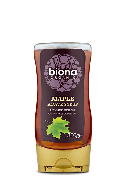 BIONA ORGANIC Maple Agave Syrup 350ml