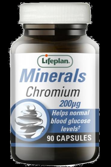 Lifeplan Chromium 200mcg X 90
