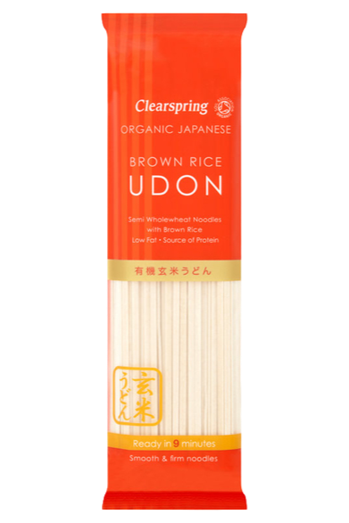 Organic Clearspring Brown Rice Udon 200g