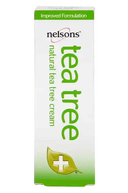 Nelsons Tea Tree Cream Antiseptic 30g