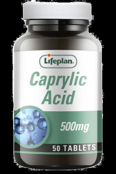 Lifeplan Caprylic Acid X 50
