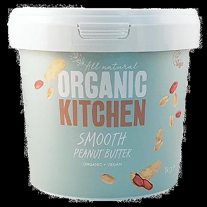 Organic Kitchen Peanut Butter Smooth (1kg)