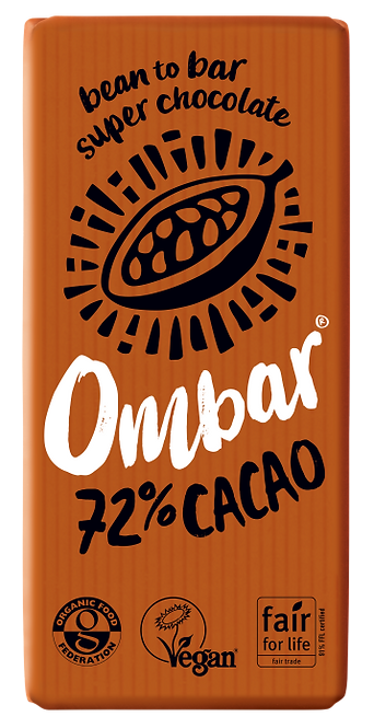 OMBAR 72% Cacao 35g