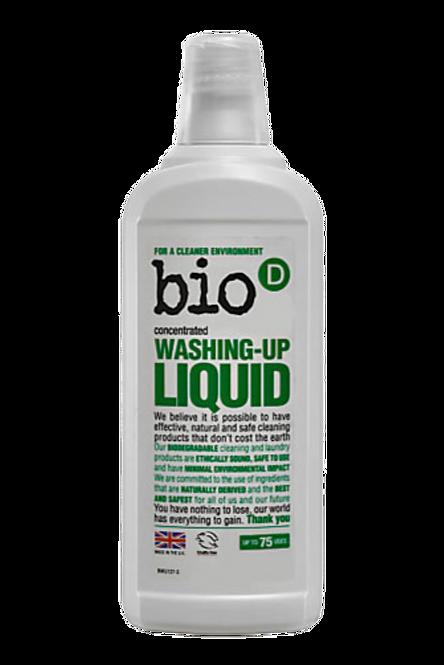 Bio D Fragrance Free Washing Up Liquid - 750ml