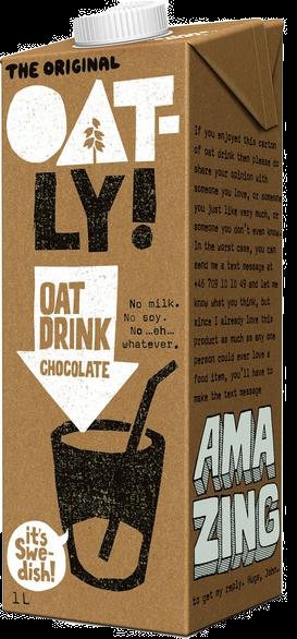 OATLY Chocolate Oat Drink 1 Litre