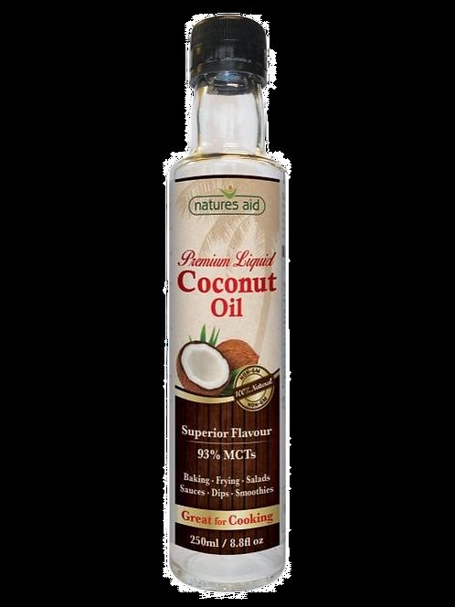 Natures Aid Coconut Oil Liquid 250ML