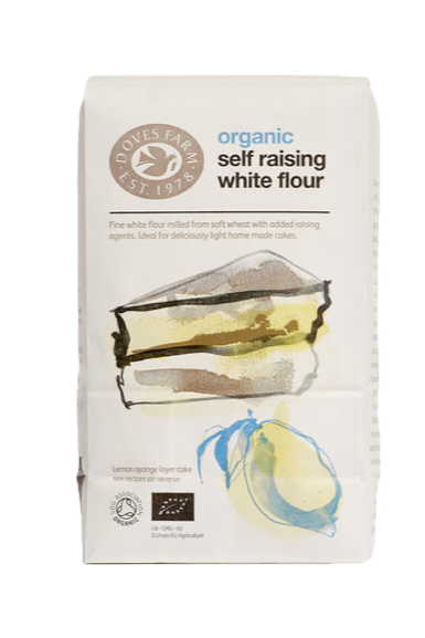 Doves Farm Organic Self Raising White Flour 1kg