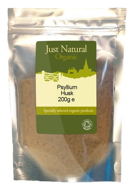 Just Natural Organic Psyllium Husk 200g