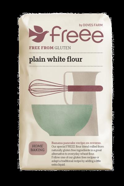 Freee by Doves Farm Gluten Free Plain White Flour 1kg