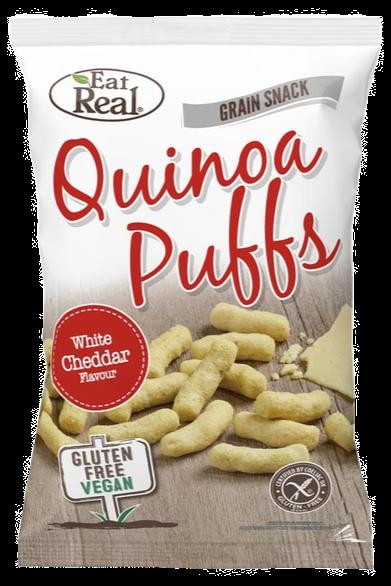 Eat Real Quinoa White Cheddar Puffs 113g