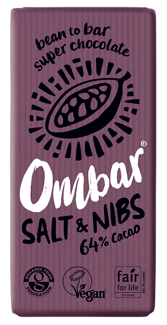 OMBAR Salt & Nibs 70g