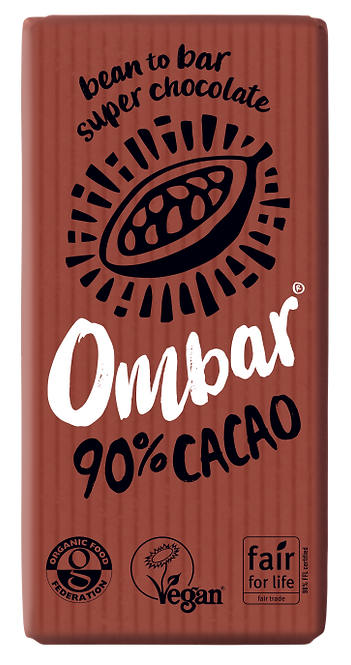 OMBAR 90% Cacao 70g