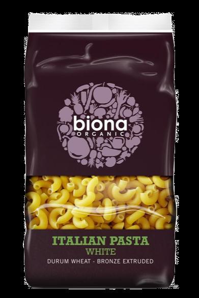 Biona Oragnic White Macaroni Pasta 500g