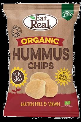 Eat Real Organic Hummus Sea Salt Chips (100g)