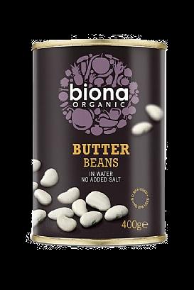 Biona Butter Beans (400g)