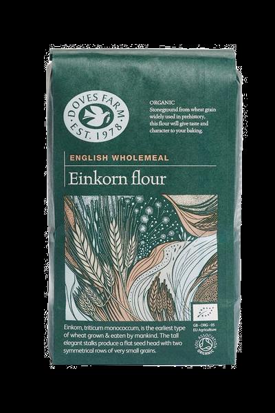 Doves Farm Organic Stoneground English Wholemeal Einkorn Flour 1kg