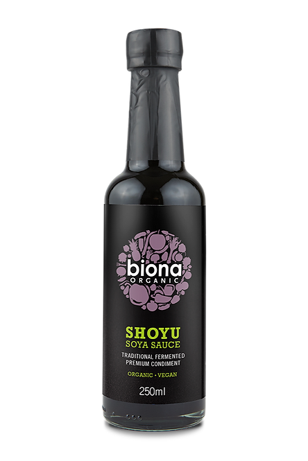 BIONA ORGANIC Shoyu Soya Sauce 250ml